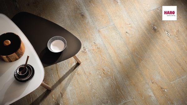 Drevená podlaha Haro DUB Atelier Sauvage retro kefovaný 13,5mm click 531 764