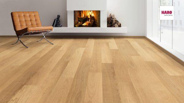 Drevená podlaha Haro DUB Exklusiv 13,5mm click 524 680