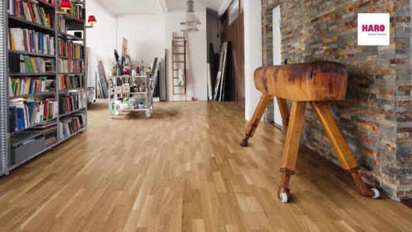 Drevená podlaha Haro DUB Favorit 11mm click 522 621