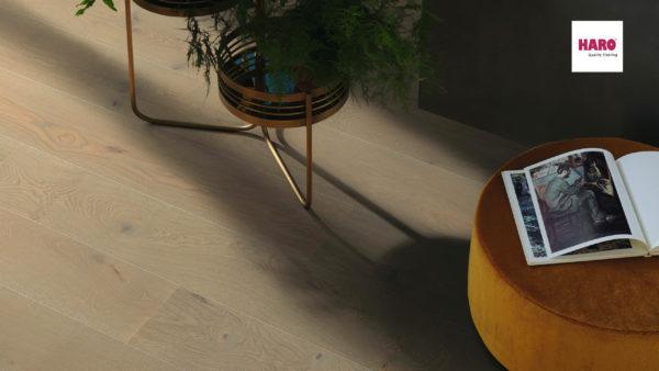 Drevená podlaha Haro DUB Graphite sivý Sauvage 13,5mm click 540 230