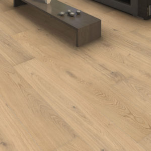 Drevená podlaha Haro DUB Light biely Markant 13,5mm click