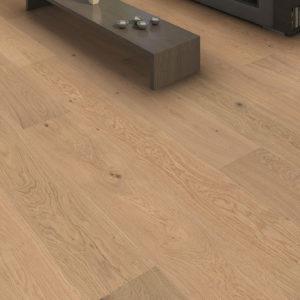 Drevená podlaha Haro DUB Puro biely Markant 13,5mm click