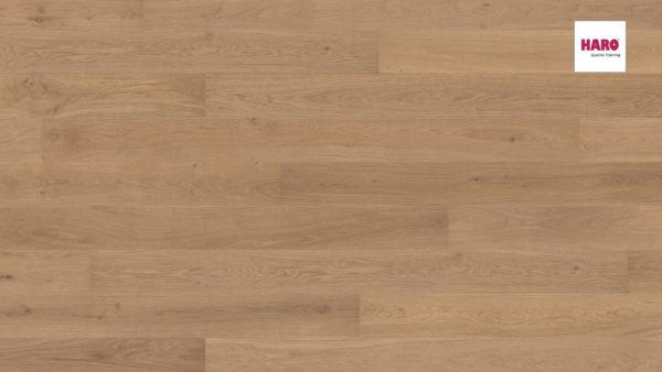Drevená podlaha Haro DUB Puro biely Markant silk 13,5mm click 541 805
