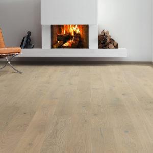 Drevená podlaha Haro DUB Sand sivý Universal 12mm click 539 064