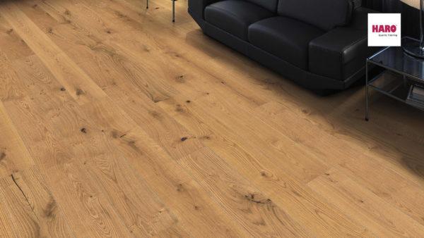 Drevená podlaha Haro DUB Sauvage silk 13,5mm click 541 813