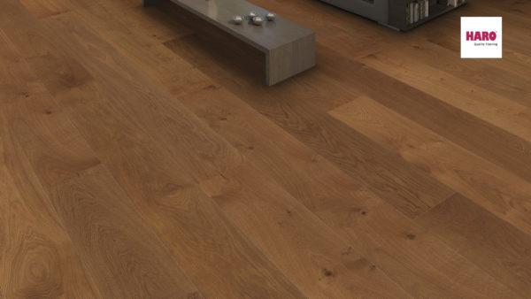 Drevená podlaha Haro DUB dymený Markant 13,5mm click