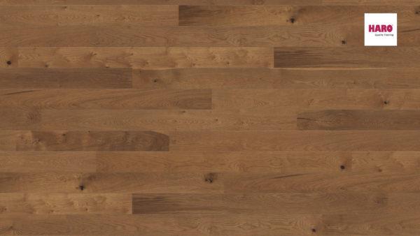 Drevená podlaha Haro DUB dymený Sauvage silk 13,5mm click 541 814