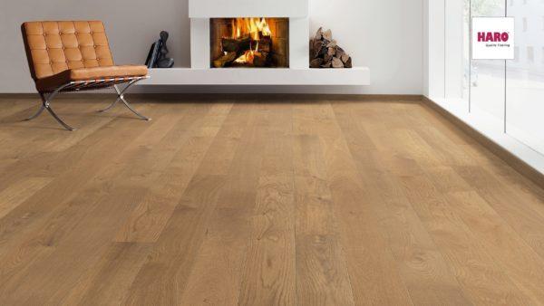 Drevená podlaha Haro DUB dymený markant 13,5mm click 535 465