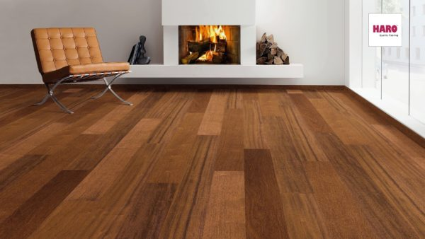 Drevená podlaha Haro MERBAU universal 13,5mm click 524 928
