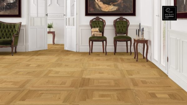 Drevená podlaha parkettmanufaktur by Haro DUB 18mm pero-drážka 535 317