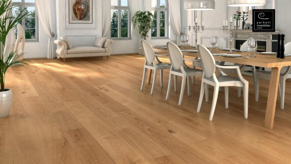 Drevená podlaha parkettmanufaktur by Haro DUB XL 18mm pero-drážka 528 924