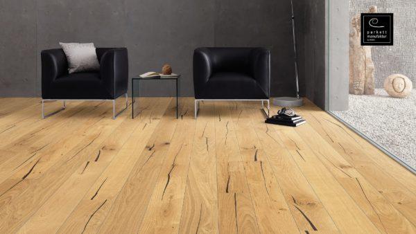 Drevená podlaha parkettmanufaktur by Haro DUB NUBIA 13,5mm click 525 259