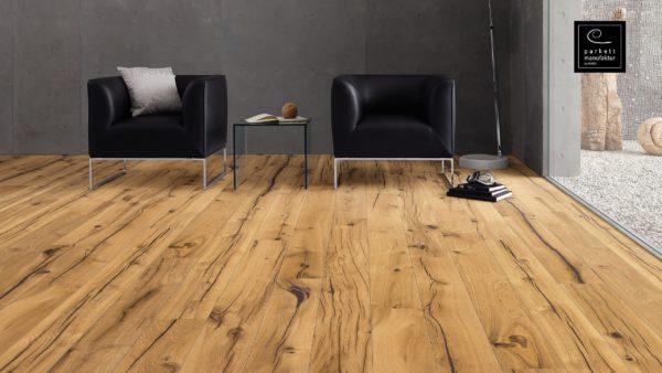 Drevená podlaha parkettmanufaktur by Haro DUB VINTAGE 13,5mm click 525 260