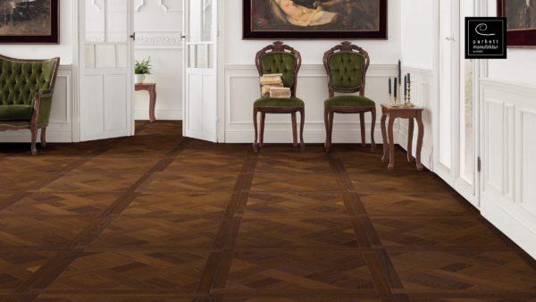 Drevená podlaha parkettmanufaktur by Haro JASEŇ ARABICA MEZZO 18mm pero-drážka 535 299