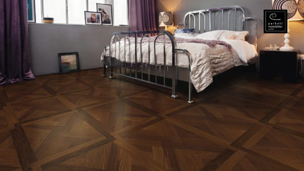 Drevená podlaha parkettmanufaktur by Haro JASEŇ ARABICA MEZZO 18mm pero-drážka 535 311