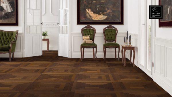 Drevená podlaha parkettmanufaktur by Haro JASEŇ ARABICA MEZZO 18mm pero-drážka 535 316