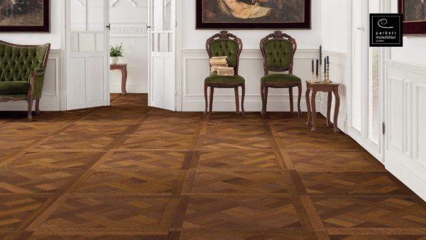 Drevená podlaha parkettmanufaktur by Haro MERBAU 18mm pero-drážka 535 303