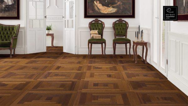 Drevená podlaha parkettmanufaktur by Haro MERBAU 18mm pero-drážka 535 319