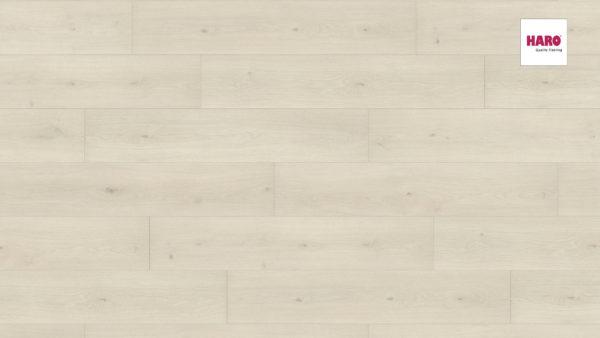 Laminátová podlaha Haro DUB EMILIA biely 8mm click 541 542