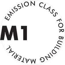 M1 trieda emisií pre stavebný materiál