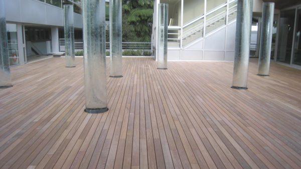 Terasové dosky VETEDY Softline IPE drevo 20mm klip bez viditeľných šrúb