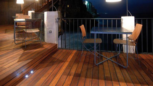 Terasové dosky VETEDY Softline MERBAU FSC® drevo 20mm klip bez viditeľných šrúb