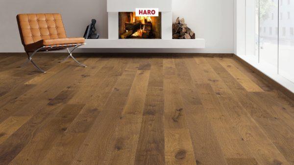 Drevená podlaha Haro DUB Dymený Sauvage retro 13,5mm click 534 152