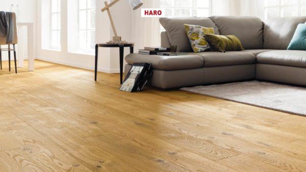Drevená podlaha Haro DUB Sauvage retro 13,5mm click 530 793