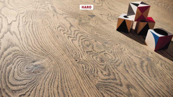 Drevená podlaha Haro DUB Tobacco Sivý Sauvage retro 13,5mm click 530 795